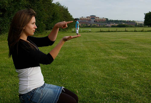 Forced Perspective Photography 24